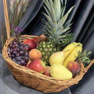 большая корзина фруктов в Херсоне фото