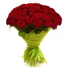 Букет 101 троянда (70 см)