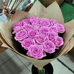 25 ярко-розовых роз Аква в Херсоне фото
